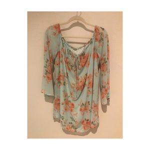 | Floral Charlotte Russe Dress |